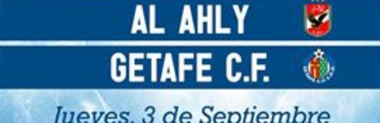 El Getafe C.F, concede a R1, autorización exclusiva para representarle, en las negociaciones de contratación de un partido amistoso Internacional de fútbol
