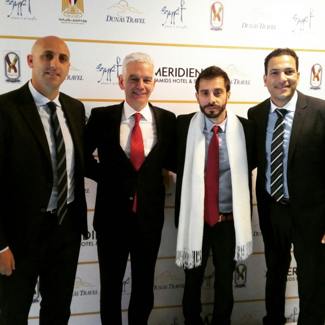 Nasmeca at the 2nd International Sports Tourism Forum in Cairo